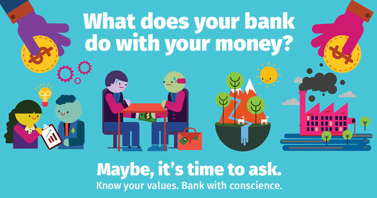 Banking on Values - Your money CAN do more.